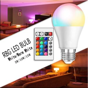 Led Intelligent Control Dimmable RGB Light