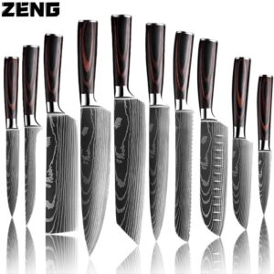 Stainless Steel Chef Knife Set